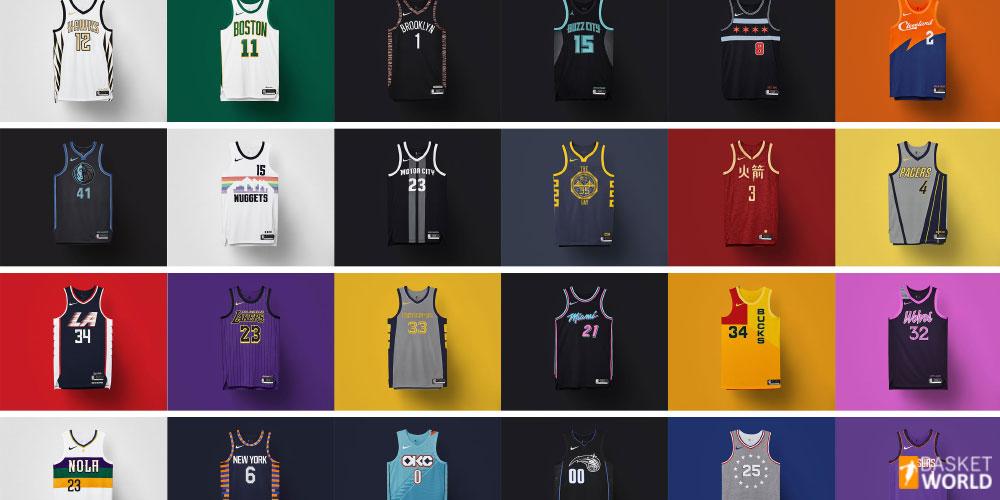 Nuevas camisetas City Edition NBA 1