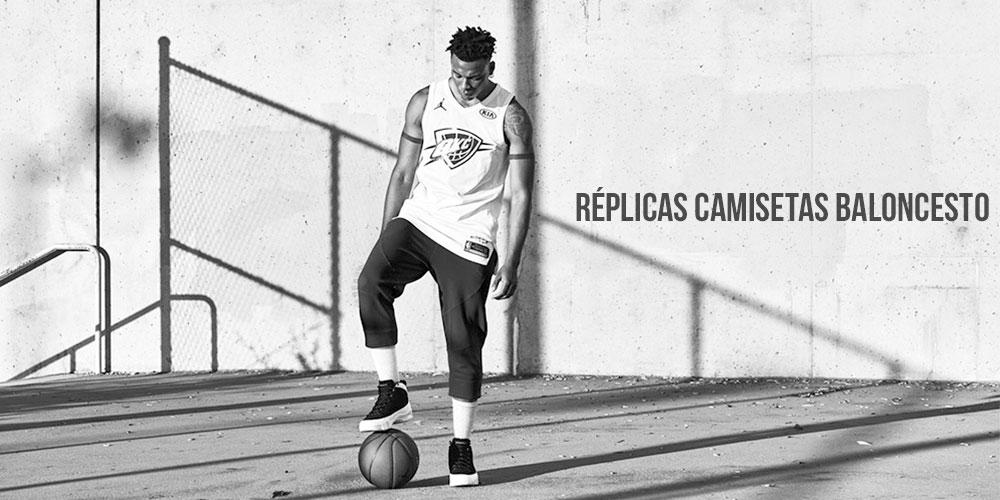 Réplicas camisetas de baloncesto 1