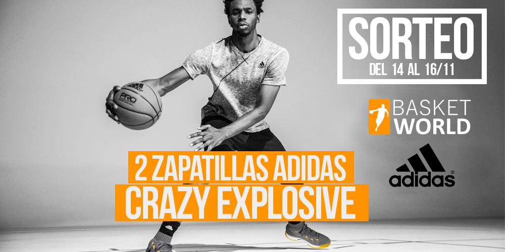 Sorteo de 2 zapatillas adidas Crazy Explosive 1