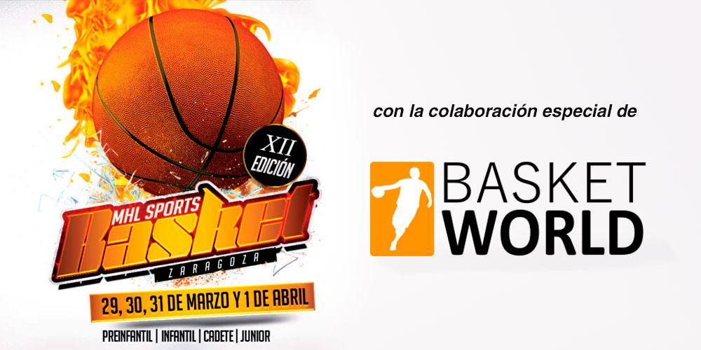 Basket World, patrocinador de los Torneos MHLSports Basket Zaragoza 1