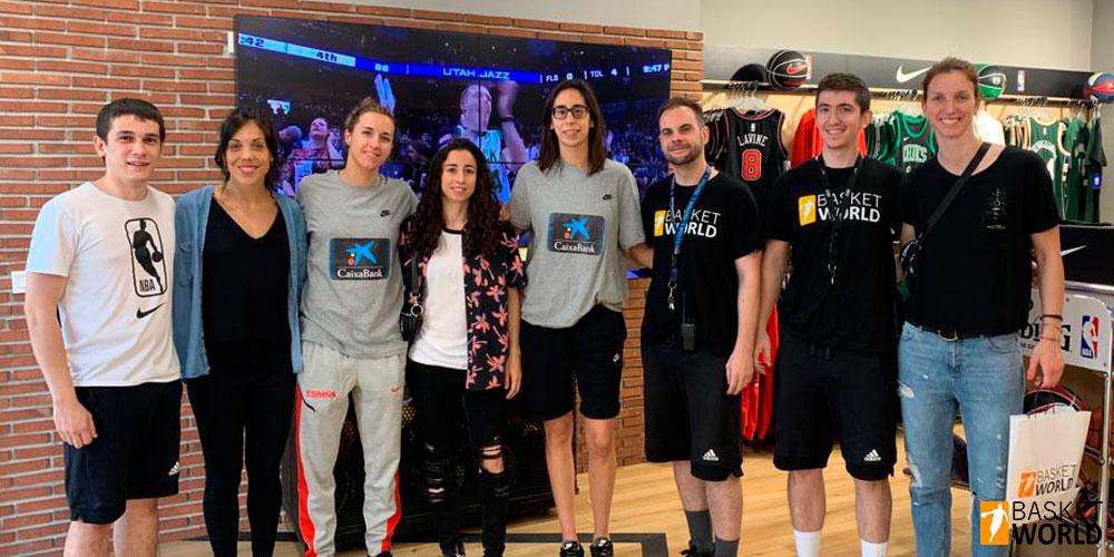 Visitas ilustres en Basket World