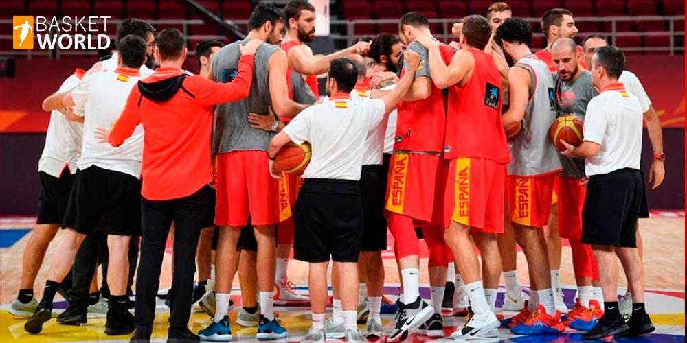 Zapatillas de los jugadores en el mundial de basket 1