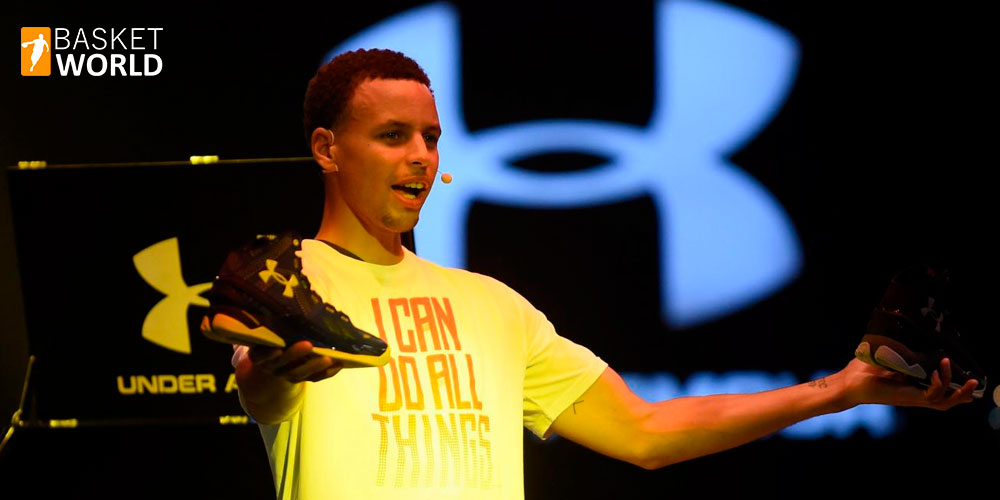 El fichaje de Stephen Curry por Under Armour 1