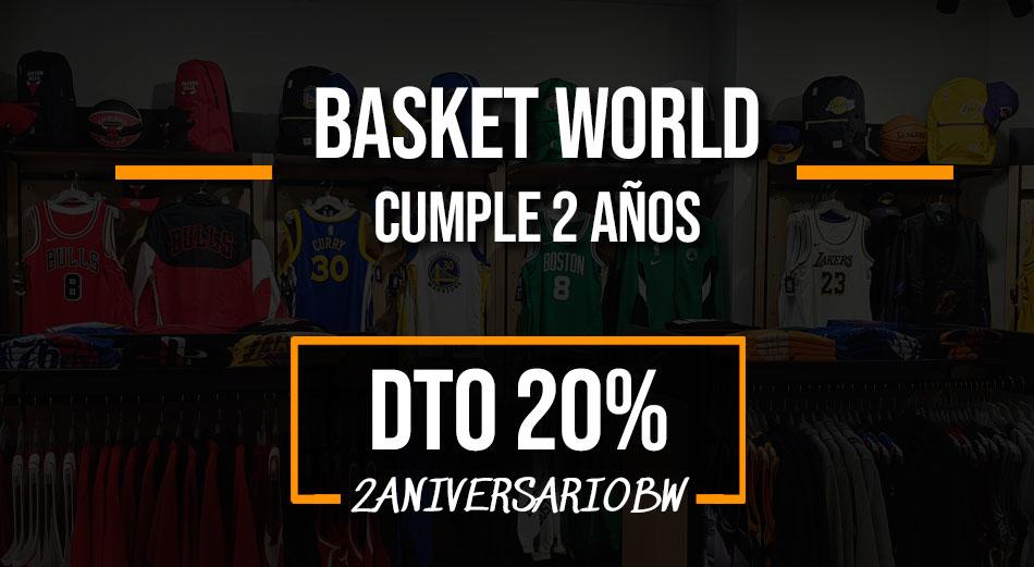 Basket World celebra su segundo aniversario 2
