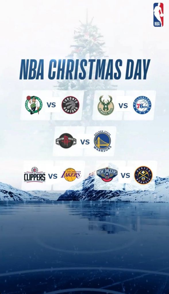 NBA Christmas Day 2019