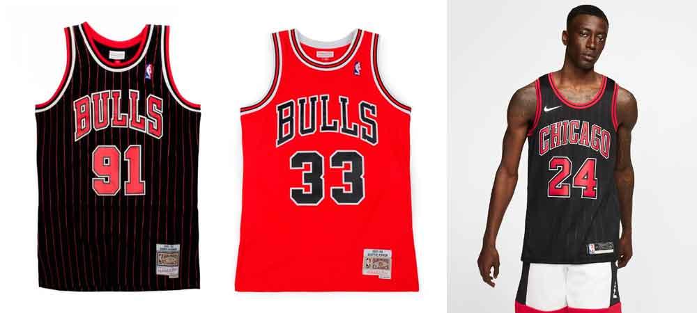 Las camisetas NBA que se llevarán este verano_ Chicago bulls