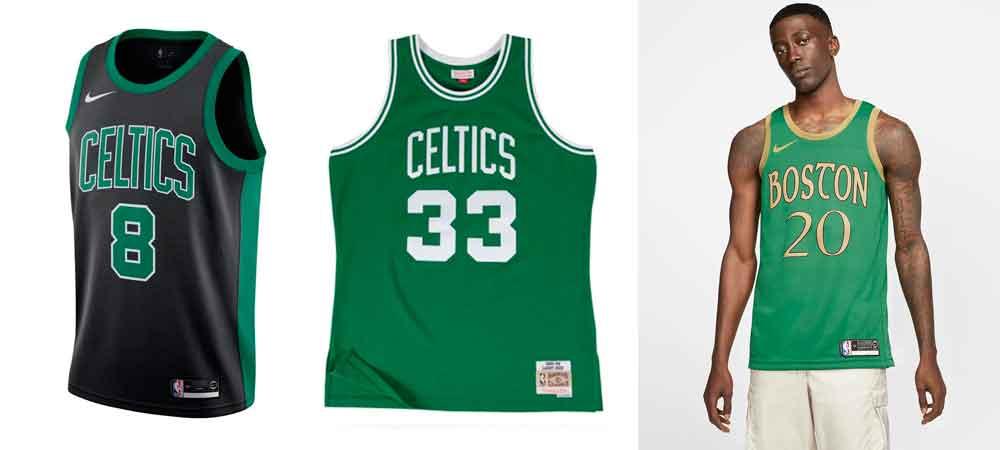 Las camisetas NBA que se llevarán este verano_Celtics