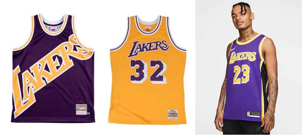 Las camisetas NBA que se llevarán este verano_Lakers