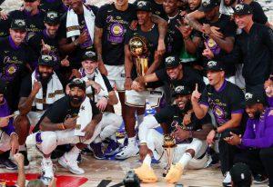 LOS ÁNGELES LAKERS CAMPEONES DE LA NBA 2020 9